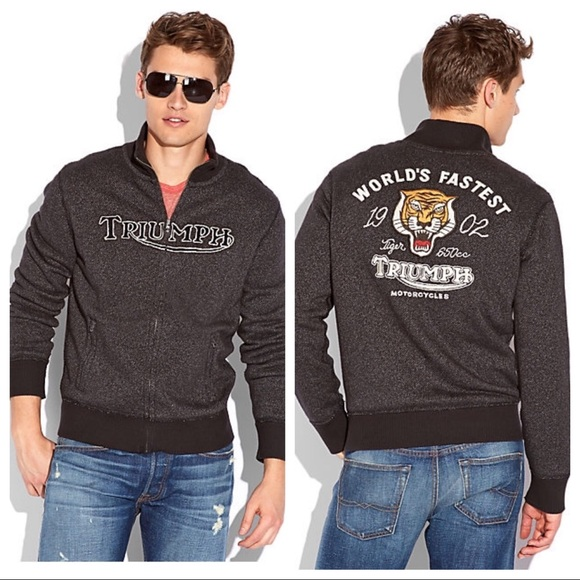 b35b1c7d69c Lucky Brand Other - Men s Lucky Brand Triumph Knit embroidered Jacket
